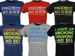 Xplicit Mens Funny Rude T-Shirt Vices & Bejuged S/S