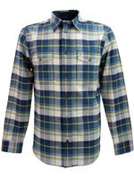 Mens Farah Vintage Check Shirt Ainsworth Brushed Cotton