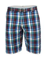 Mens Ben Sherman Short Check Cotton Neon Blue