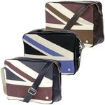 Mens Ben Sherman Flight Record Bag Union Jack Print