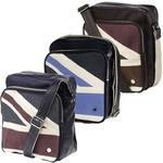 Mens Ben Sherman Scooter Bag Union Jack Print