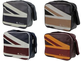 Mens Ben Sherman Shoulder/ Flight/ Messenger Bag Union Jack Print in 4 Colours Preview