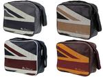Mens Ben Sherman Shoulder/ Flight/ Messenger Bag Union Jack Print in 4 Colours