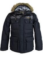 Nickelson Mens Winter Parka/ Puffer Hoodie Jacket Coat