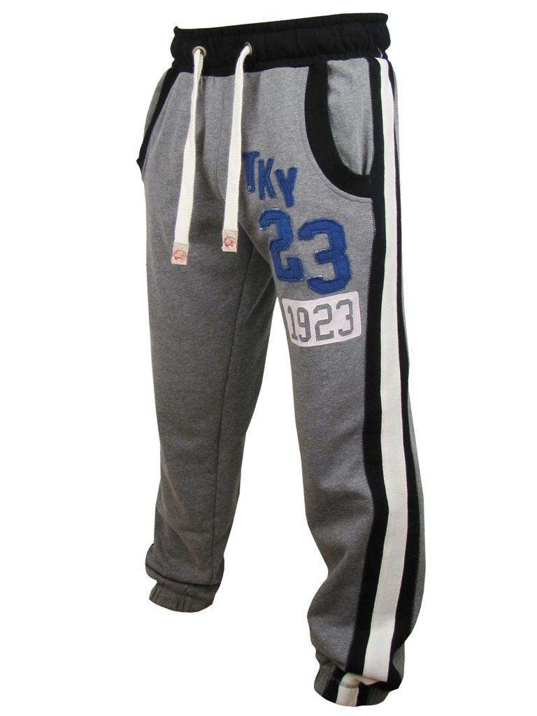 Mens-Job-Track-Pants-Tokyo-Laundry-Totti-Joggers-Bottoms-grey-or-Navy
