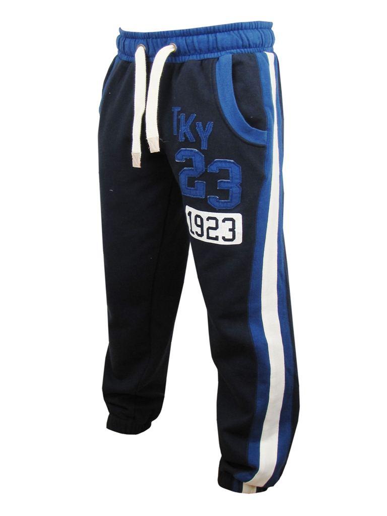 Homme-Travail-Track-Pants-Tokyo-Laundry-Totti-survetement-Pantalon-gris-ou-bleu-marine