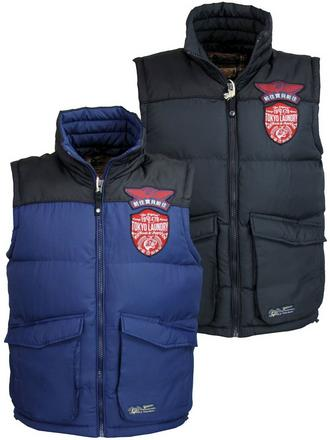 Mens Tokyo Laundry Gilet/ Body Warmer Jacket Coat 'Kintyre' 'Exning' Navy, Blue Preview