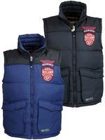Mens Tokyo Laundry Gilet/ Body Warmer Jacket Coat 'Kintyre' 'Exning' Navy, Blue Thumbnail 1