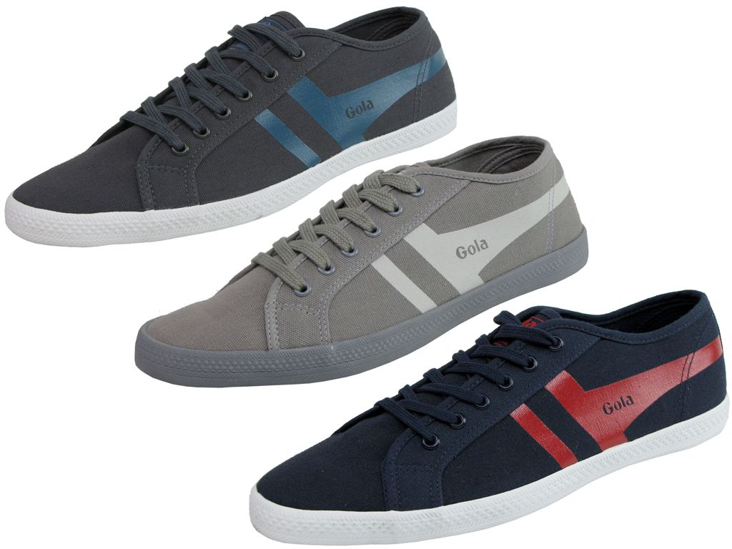 Mens Gola Classic Plimsolls The Original 'Quattro' Style Shoe Plimsole Enlarged Preview