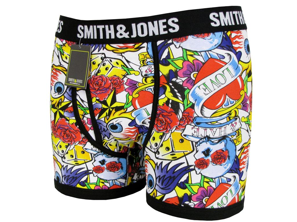 Mens-Boxers-Shorts-Smith-Jones-Doddle-Love-Hate-Underwear