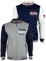 Mens Tokyo Laundry 'Collins' College Varsity Letterman Baseball Jumper Jacket/ C