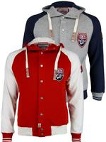 Mens Tokyo Laundry 'Robinson' College Varsity Letterman Baseball Jumper Jacket/