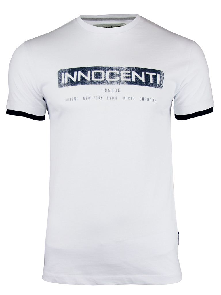 Lambretta Mod Retro 'Innocenti' Print T-Shirt Enlarged Preview