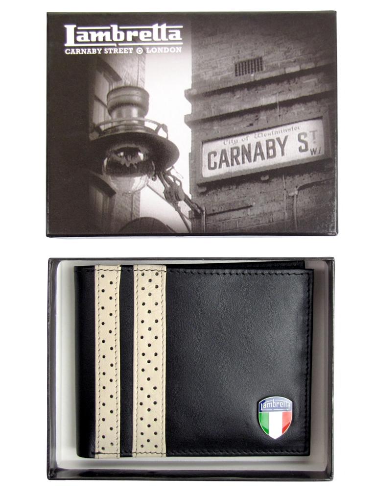 Mens-Lambretta-Leather-Twin-Stripe-Wallet-Gift-Boxed