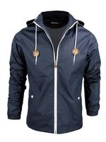 Mens Farah Vintage 'The Howe' Hooded Jacket/ Coat