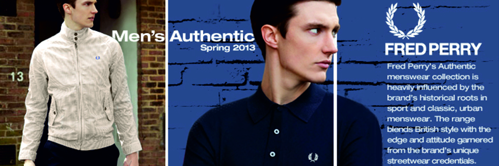 Shop for the Latest Fred Perry Clothing