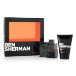 Ben Sherman Mens Gift Set 50ml Eau de Toilett + 100ml Shower Gel