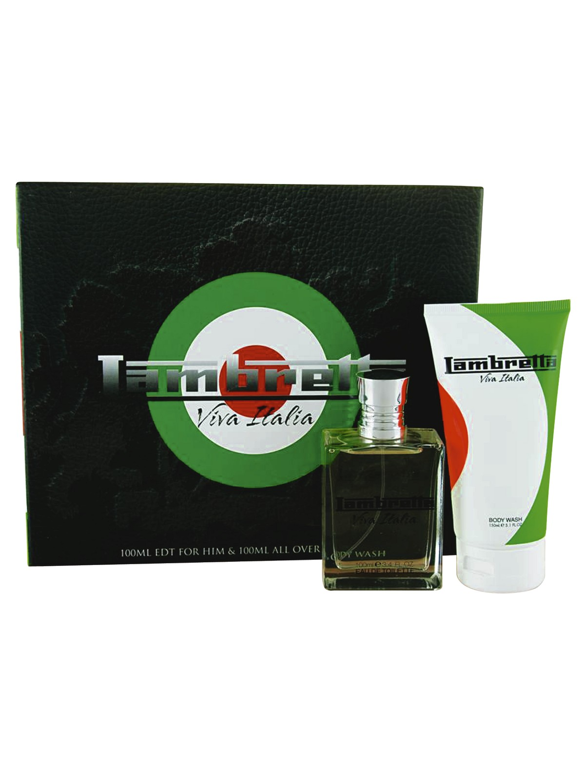 Mens Lambretta 'Viva Italia' 100ml Eau de Toilette & 150ml Shower Gel Gift Set Enlarged Preview