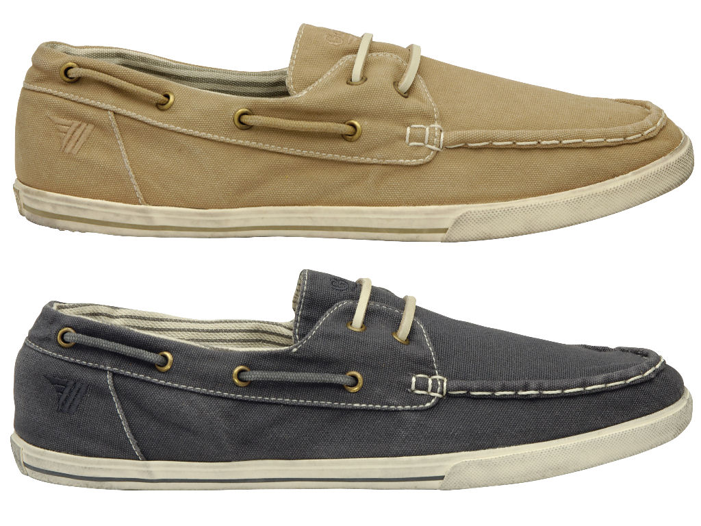 Mens Gola Classic 'Clipper' Canvas Deck/ Plimsoll Style Shoe Enlarged Preview