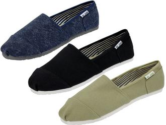 Mens Voi Jeans Espadrilles/ Pumps/ Plimsolls 'Cassian' With Tabbed Logo Preview