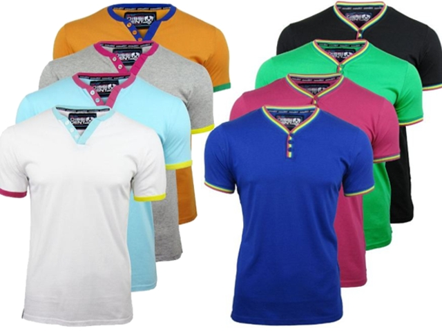 Mens Dissident Retro T-Shirts Short Sleeved - 4 Pack Enlarged Preview