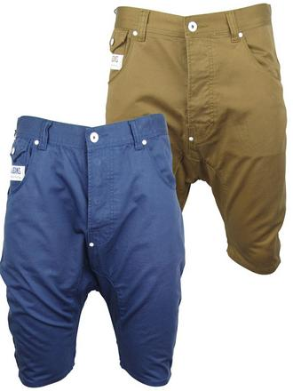 Mens Voi Jeans Drop Crotch Chinos Shorts 'Strfight' Preview