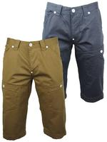 Mens Voi Jeans Combat/ Cargo Chinos Shorts 'Shear'