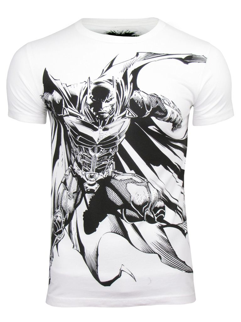 Batman 'Dark Night Rises' T-Shirt 'Angry Bat' by French Connection/ Fcuk Enlarged Preview