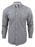 Mens Ben Sherman Mod Check Long Sleeved Shirt