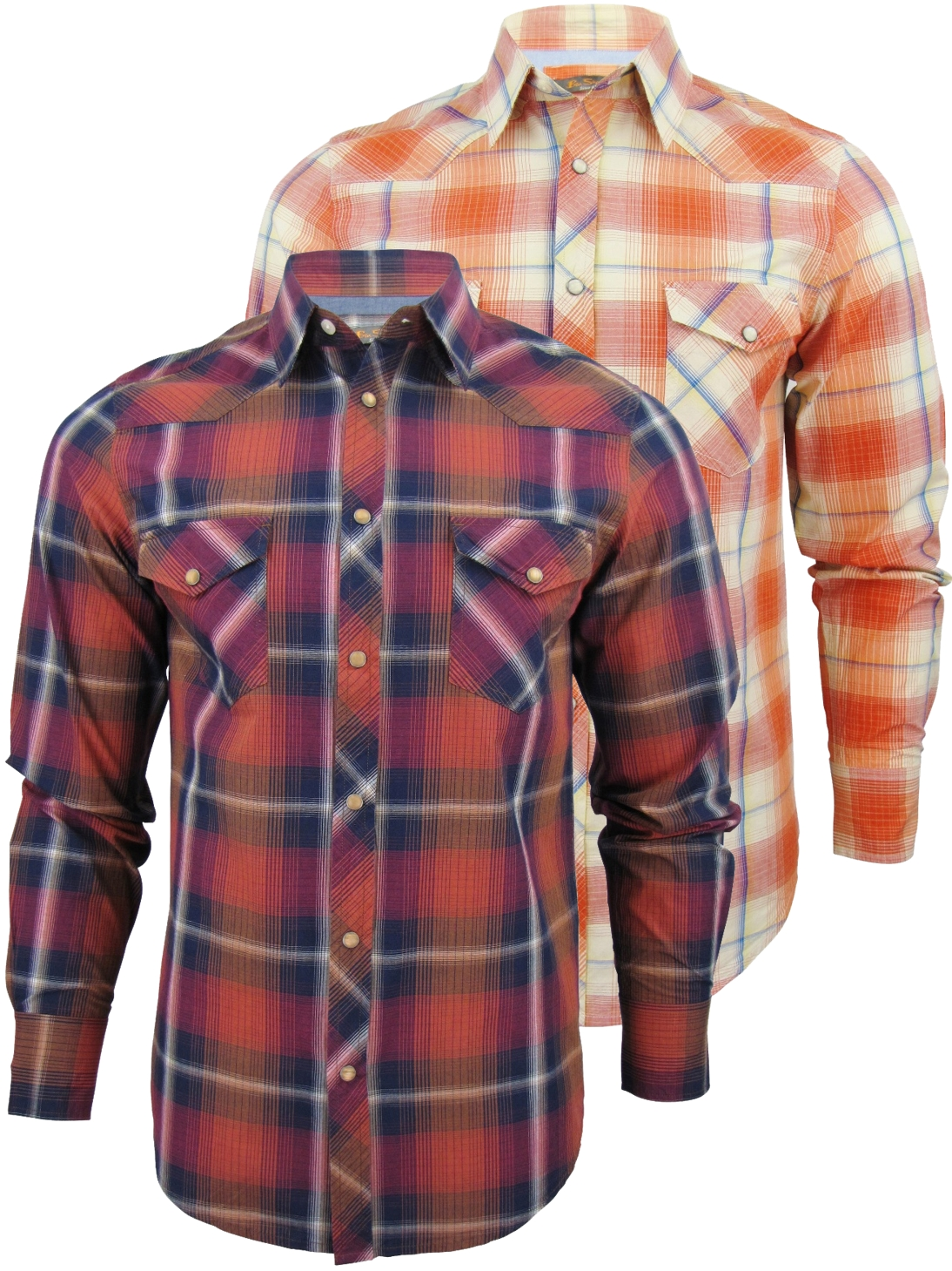 chemise manche longue ben sherman ann e 50 western. Black Bedroom Furniture Sets. Home Design Ideas