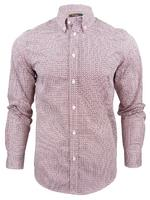 Mens Ben Sherman 50's Heritage Print Long Sleeved Shirt