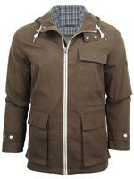 Mens Ben Sherman Hooded Parka Jacket/ Coat
