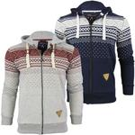 Mens Criminal Damage 'Brick Hood' Hoodie Aztec Print