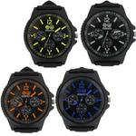Mens Crosshatch 'Case' Watch Gift Boxed