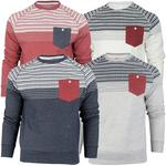 Mens Tokyo Tigers Aztec/ Nordic Crew Neck Jumper/ Sweatshirt 'Torsby'