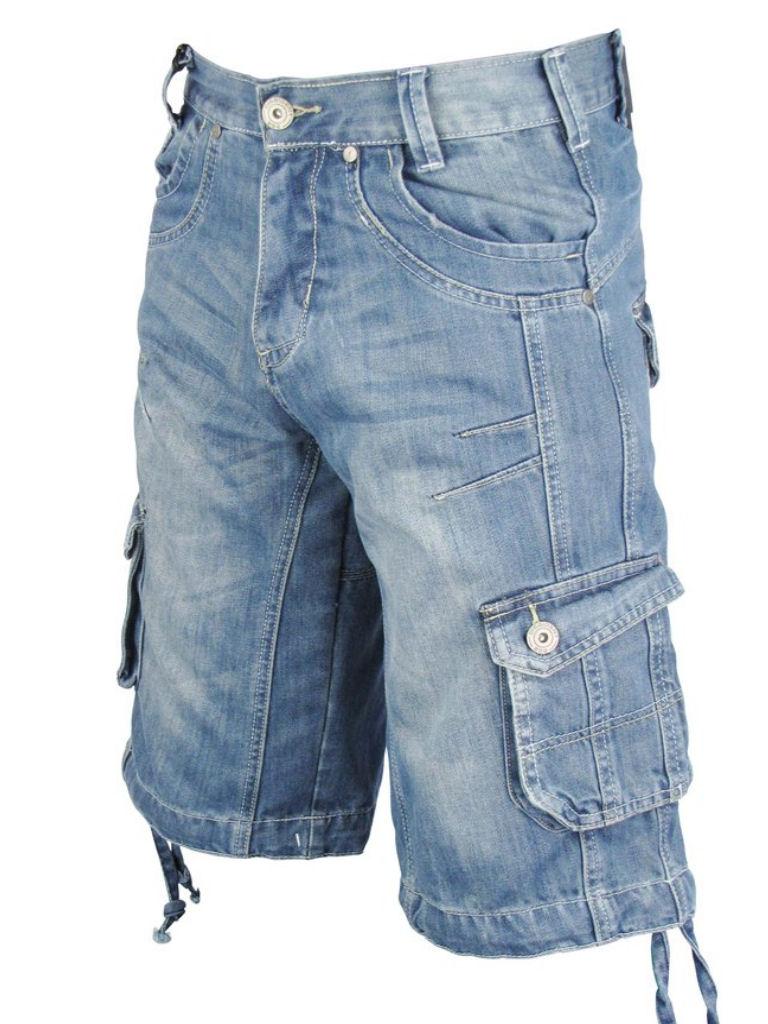 Mens Dissident Denim Jean/ Cargo Shorts 'Splinter' Raw ...