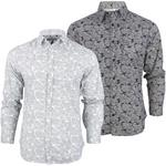 Brave Soul Paisley Print Casual Shirt Long Sleeved