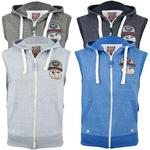 Mens Tokyo Tigers 'Suzaki' Hoodie/ Hooded Sleeveless Jumper/ Sweatshirt 'Suzaki'