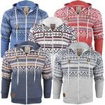 Mens Tokyo Hoodie/ Hooded Aztec/ Nordic Jumper/ Sweatshirt 'Kolsva'