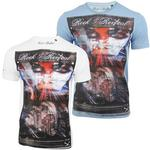Mens Rock &amp; Revival T Shirt 'Sterling' Short Sleeved