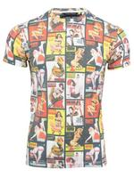 Mens Criminal Damage 'Front Page' T Shirt Short Sleeved