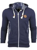 Mens Criminal Damage 'QUEEN' Hoodie/ Hooded Paisley Jumper