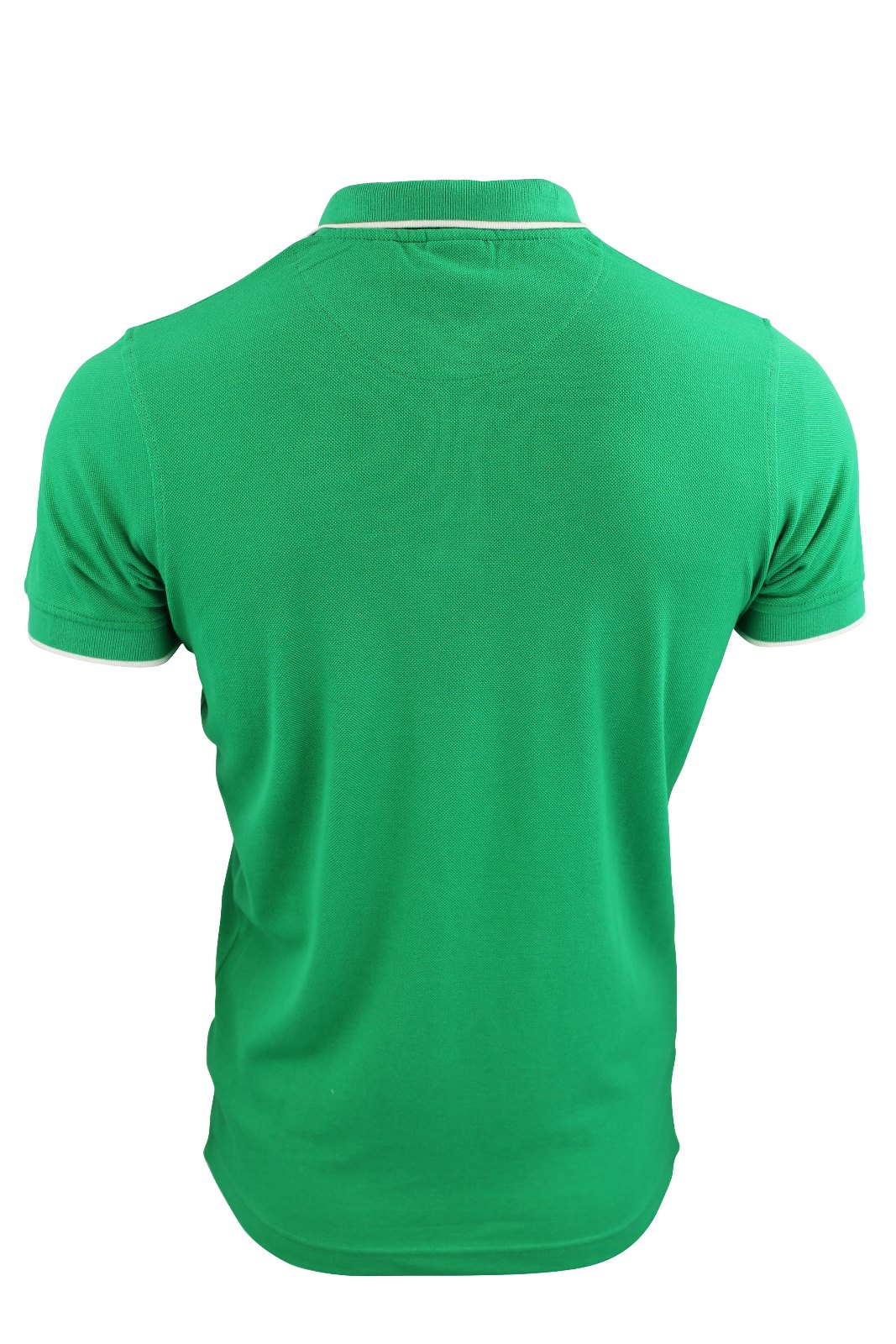 Mens crosshatch tipped plain pique polo t shirt 39 raymo for Plain t shirts to print on