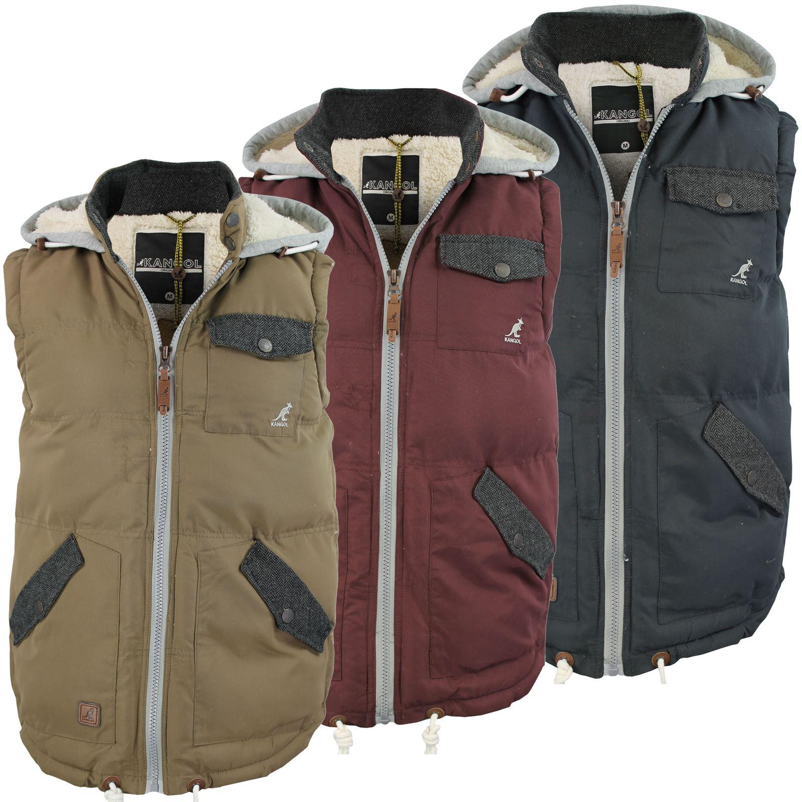 warm mens body warmer gilet hoodie hooded contrast hood. Black Bedroom Furniture Sets. Home Design Ideas