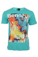 Bench Mens T-Shirt 'New Flyer' Short Sleeved Large Graphic Print