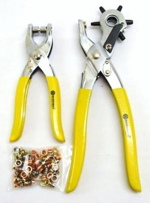 how to use eyelet and snap fastener pliers
