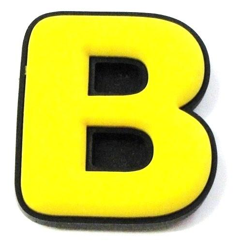 Yellow letter n