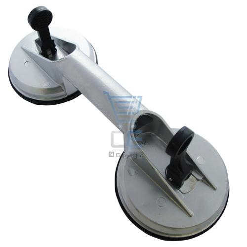Aluminium Dual Suction Cup Dent Pull Remover Glass Lift Enlarged Preview