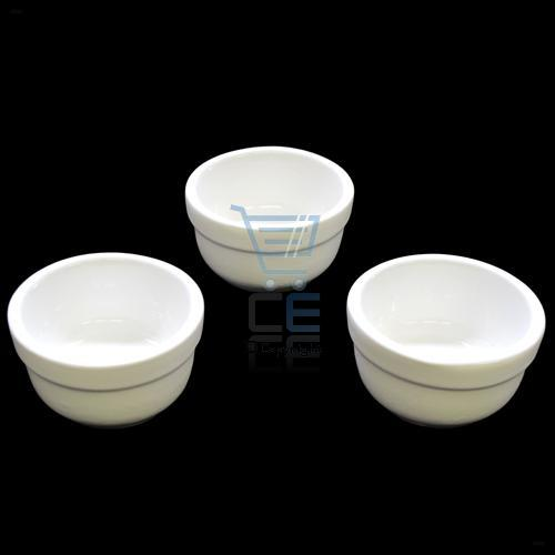 3pc 6cm White Oven Safe Ceramic Ramekins Serving Dishes FREE P&P Enlarged Preview
