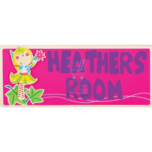 Wooden Fairy Door Plaque With Adhesive Fixing Pads  eBay